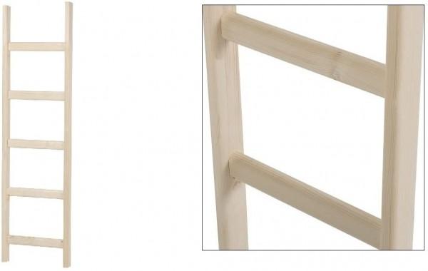 Intercon® Holzleiter mit 5 Holmen
