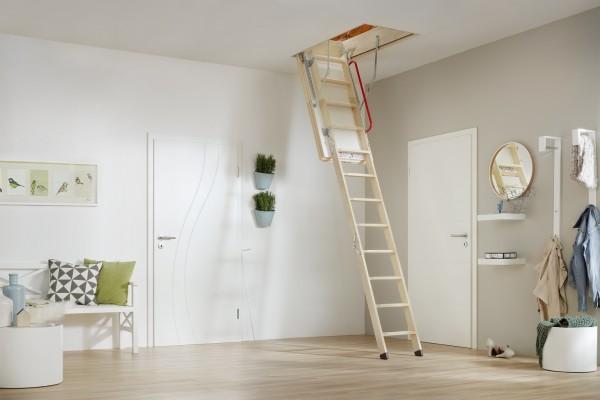 MINKA® Dachbodentreppe Polar 120 x 70 cm für Höhe bis 280 cm