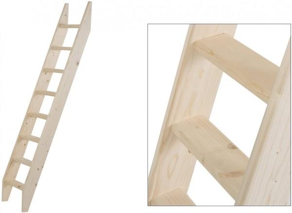 Intercon® Holzleiter mit 8 Stufen
